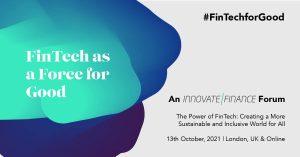FinTech as a Force for Good